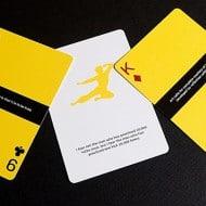 Dan & Dave Bruce Lee Playing Cards Cool Fan Memorabilla