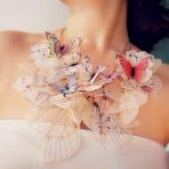 Jewelera Fluttery Butterfly Necklace Cute Summer Accessory