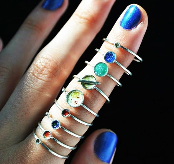 Wrap an entire solar system around your finger.