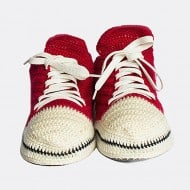 Knit and Leather Knitted Sneakers Perfect Beach Shoes