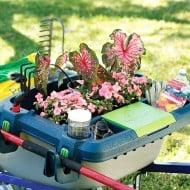Little Burro Wheelbarrow Organizer Buy Backyard Stuff