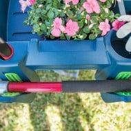 Little Burro Wheelbarrow Organizer Cool Garden Equipment