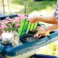 Little Burro Wheelbarrow Organizer Cute Gardeners Tool
