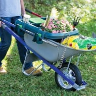 Little Burro Wheelbarrow Organizer Multipurpose Patio Things