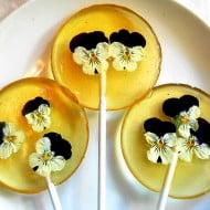 Sugar Bakers Bakery Fresh Flower with Liquor Lollipops Cool Alcoholic Candy