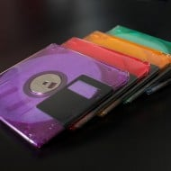 Techno Chic Floppy Disk Coasters House Warming Gift Idea