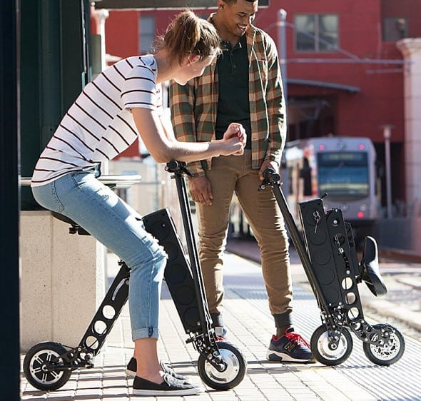 Lightweight electric vehicle for your urban journey.