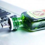 Boozy Christmas Jagermeister USB Flash Drive Cool Gadget