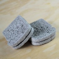 Default Whole Wheat Concrete Coasters Dining Table Accessory