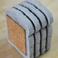 Default Whole Wheat Concrete Coasters Tableware Set