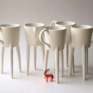 Escuela De Cebras Giraffe Cups Cool Ceramic Design