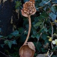Giles Newman Hand Carved Wooden Spoons Gift Idea