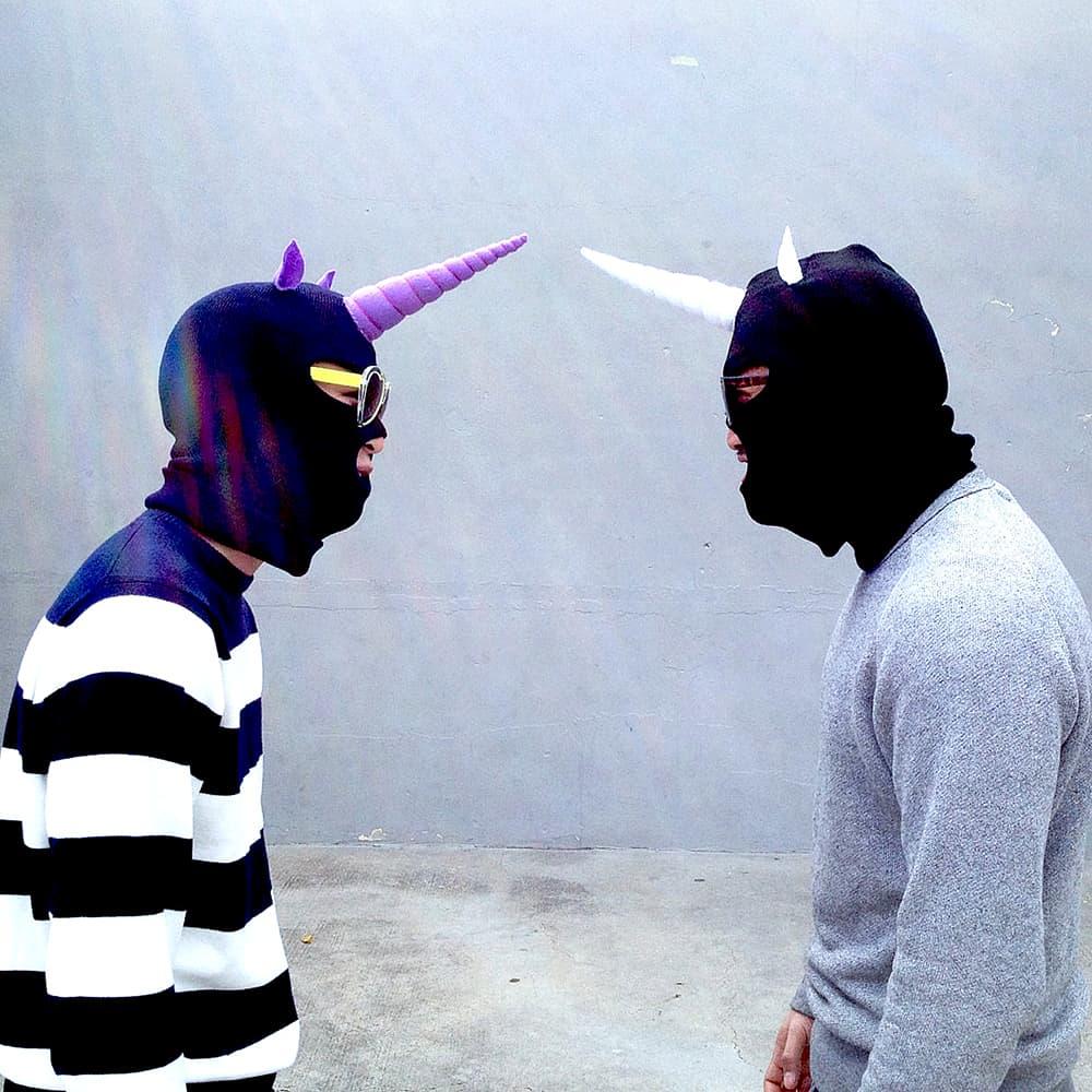 Jumbo jibbles black unicorn ski mask noveltystreet
