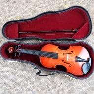 Miniature Personalized Violin Cool Home Accessory