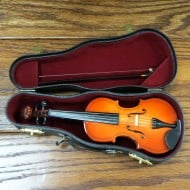 Miniature Personalized Violin Nice Souvenir