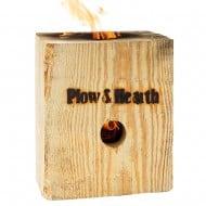 Plow & Hearth Blazing Block Portable Bonfire Cool Firewood