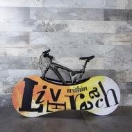 Velo Sock Bicycle Indoor Storage Cover Two Wheeler Equipment