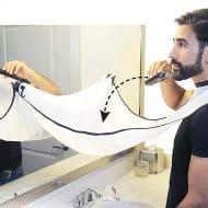 Beard King Beard Bib Good for Hygiene