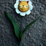 Chercheto Kitty Flower Good for Flower Lover