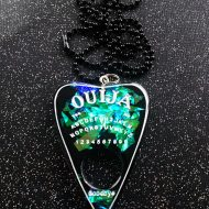Cult Black Ouija Planchtte Pendant Awesome Necklace
