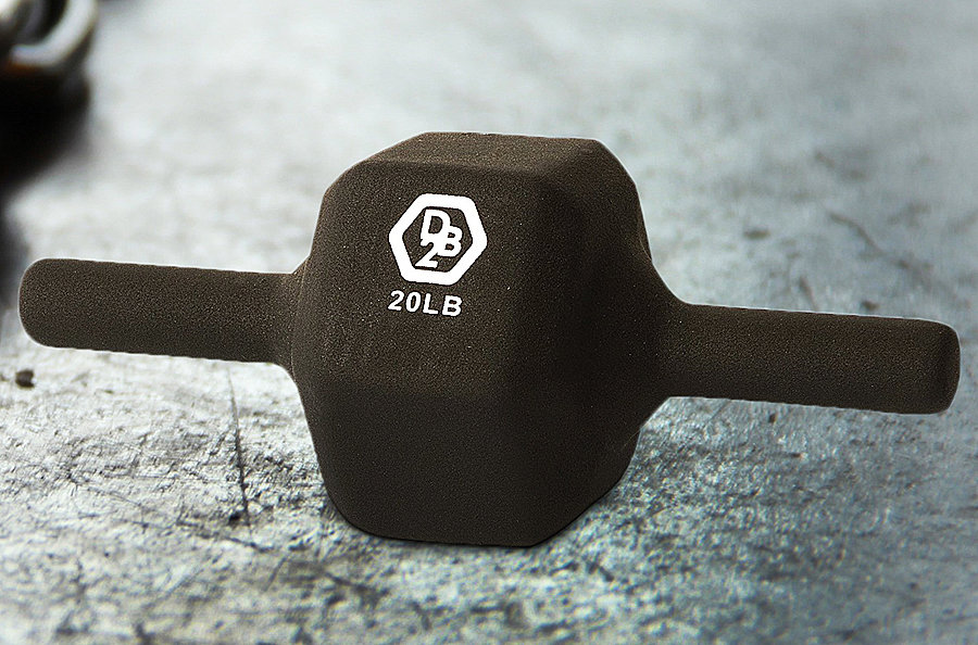 Two-handed dumbbell that'll change your workout.