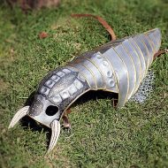 Lebovskiart Fantasy Dog Knight Armor Novelty Item