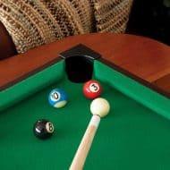 Mainstreet Classics Table Top Billiards Portable Novelty Item