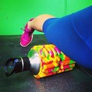 Mobot Foam Roller Water Bottle After Workout Equipment