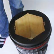 Monoculo Shop Camera Lens Shaped Stool Good Storage