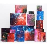 Norman's Printery Galaxy Print Gift Wrap Novelty Item