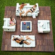 Pigro Felice Modul'Air Inflatable Sofa Set Great for Outdoor