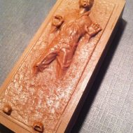 Sweet Belle Cakes Han Solo In Carbonite Chocolate Truffle Bar Awesome Snack