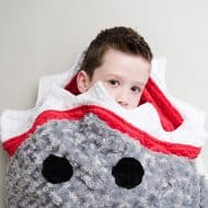 Tara's Cozy Creations Shark Blanket Good for Bedroom