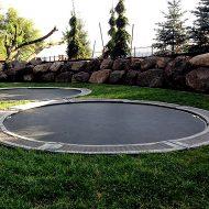 Trampolines Downunder Ground Level Trampoline Good for Backyard