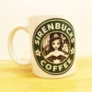 Wolf Fawn Disney Starbucks Mug Give away Items