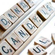 Andie Specialty Sweets Edible Game Tiles & Racks Nice Candies