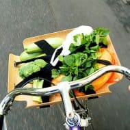 Bent Basket Cargo Rack Perfect for your Bicycle