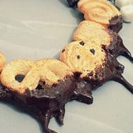 Chocoholic Jewels Chocolate Dripping Danish Butter Necklace Cool Accessory