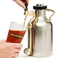 Growler Werks uKeg 64 Pressurized Growler Things to Have on a Party