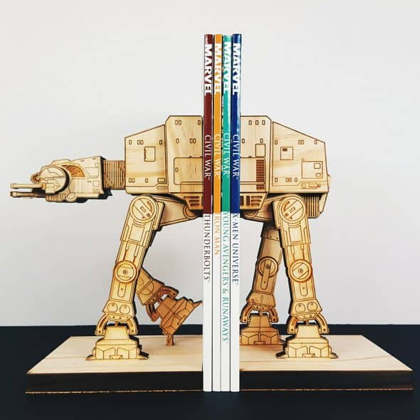 Use the empire's might to keep your books organized.