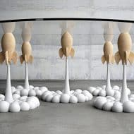 Mousarris Rocket Coffee Table Good for Living Room
