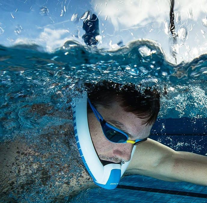 Swimmers can now breathe with power.