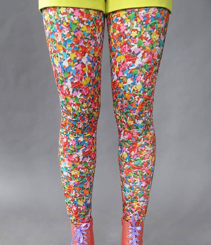 Sprinkle some color on your outfit.