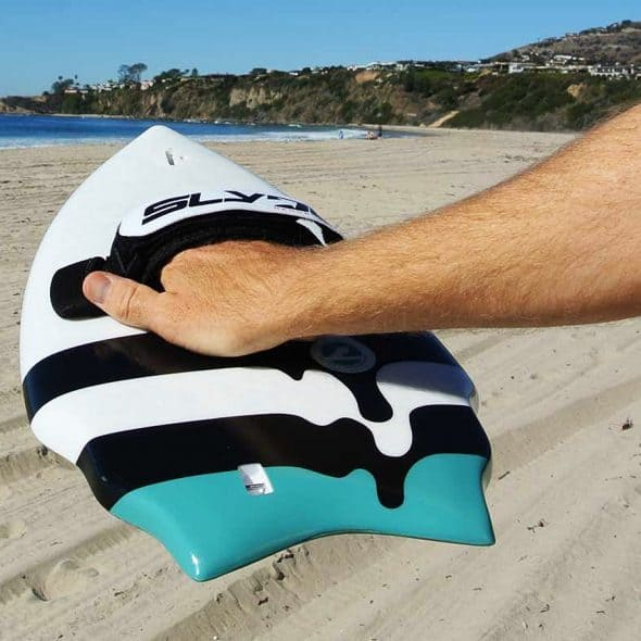 Wave riding in the palm of your hand.