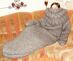Snugly, woolly and comfy.