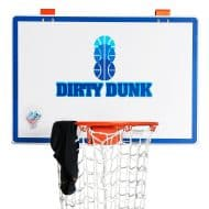 The Dunk Collection Dirty Dunk Over-the-Door Basketball Hoop Hamper Nice for Bedroom