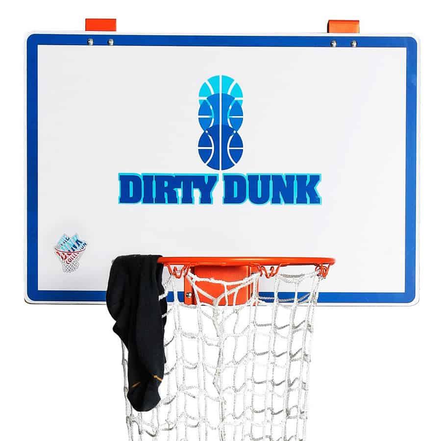 The dunk collection dirty dunk over the door basketball hoop hamper noveltystreet - Dirty dunk hamper ...