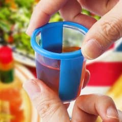 Twist your cup and do a jello shot.