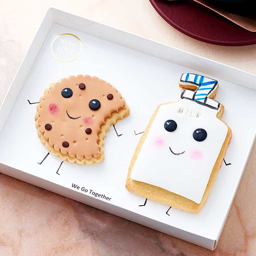 Cookies so kawaii they'll surely end up in your thigh.