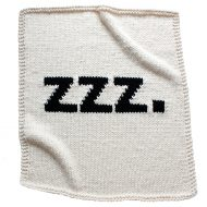 Yarning Made ZZZ Baby Blanket Awesome Novelty